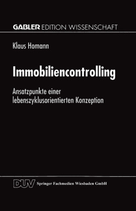 Buch: Immobiliencontrolling