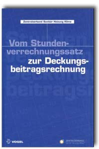 buch vom stundenverrechnungssatz zur. Black Bedroom Furniture Sets. Home Design Ideas