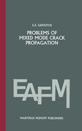 Buch: Problems of mixed mode crack propagation