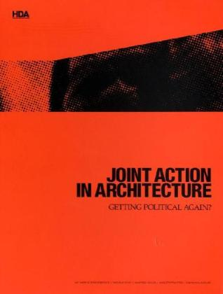 Buch joint action in architecture getting political for Innenarchitektur hda