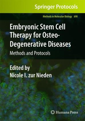 Buch: Embryonic Stem Cell Therapy for Osteo-Degenerative Diseases