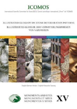Buch: Illustriertes Glossar der Verwitterungsformen von Naturstein; Illustrated glossary on Stone deterioration patterns