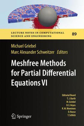Buch: Meshfree Methods for Partial Differential Equations VI