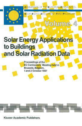 Buch: Solar Energy Applications to Buildings and Solar Radiation Data