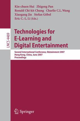 Buch: Technologies for E-Learning and Digital Entertainment