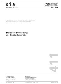 Norm: SIA 411:2016. Modulare Darstellung der Gebäudetechnik