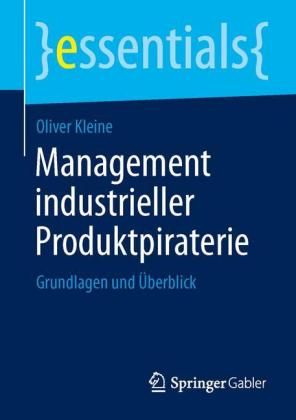 Buch: Management industrieller Produktpiraterie