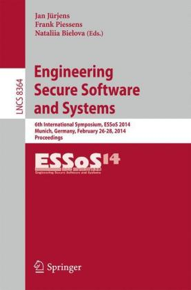 Buch: Engineering Secure Software and Systems