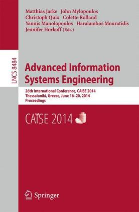 Buch: Advanced Information Systems Engineering