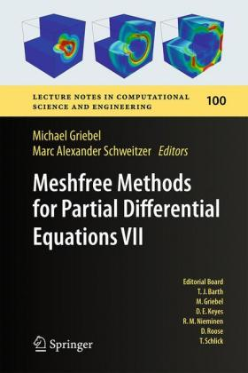 Buch: Meshfree Methods for Partial Differential Equations VII