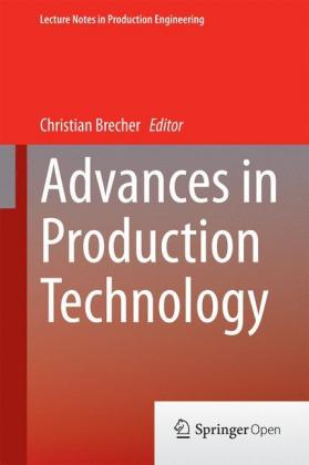Buch: Advances in Production Technology