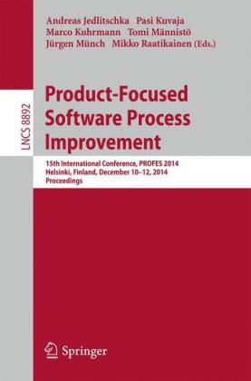 Buch: Product-Focused Software Process Improvement