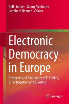 Buch: Electronic Democracy in Europe