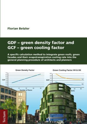 Buch: GDF - Green Density Factor and GCF - Green Cooling Factor