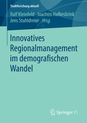 Buch: Innovatives Regionalmanagement im demografischen Wandel