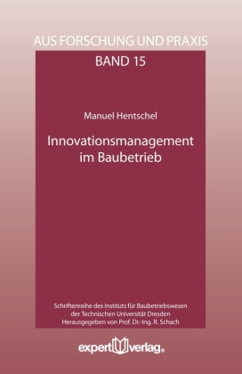 Buch: Innovationsmanagement im Baubetrieb