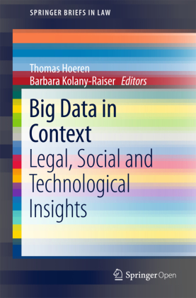 Buch: Big Data in Context