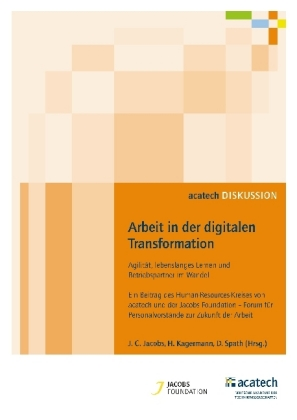 Buch: Arbeit in der digitalen Transformation