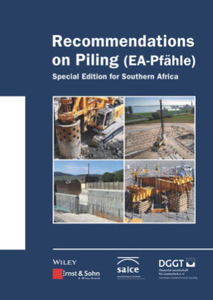 Buch: Recommendations on Piling (EA Pfähle)