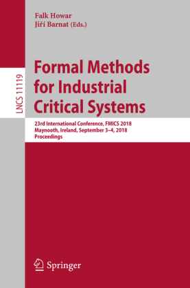 Buch: Formal Methods for Industrial Critical Systems