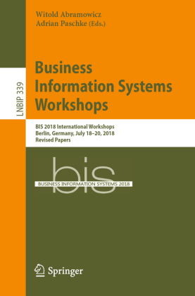 Buch: Business Information Systems Workshops