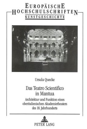 Buch: Das Teatro Scientifico in Mantua
