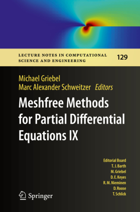 Buch: Meshfree Methods for Partial Differential Equations IX