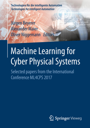 Buch: Machine Learning for Cyber Physical Systems