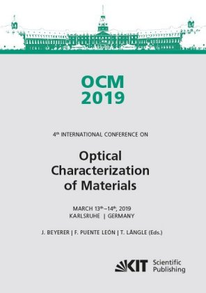 Buch: OCM 2019 - Optical Characterization of Materials : Conference Proceedings