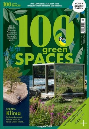 Buch: 100 green SPACES
