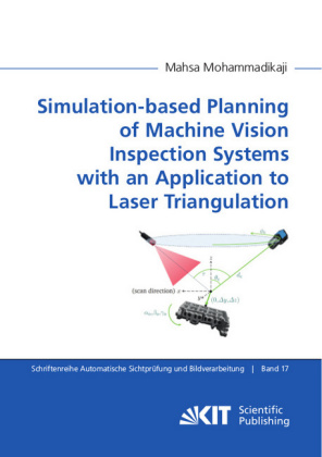 Buch: Simulation-based Planning of Machine Vision Inspection Systems with an Application to Laser Triangulation