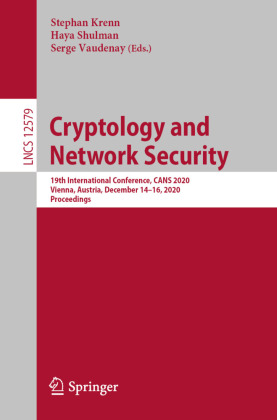 Buch: Cryptology and Network Security
