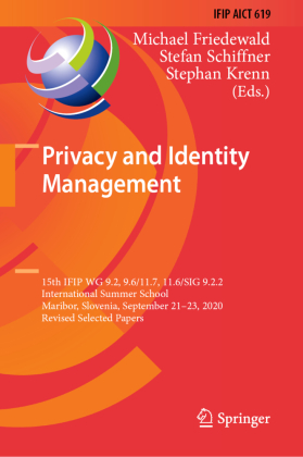 Buch: Privacy and Identity Management
