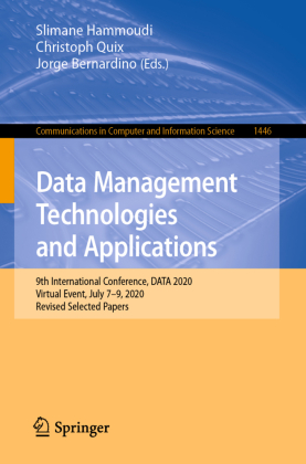 Buch: Data Management Technologies and Applications