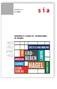 Buch: Entwerfen & Planen mit Naturgefahren im Hochbau
