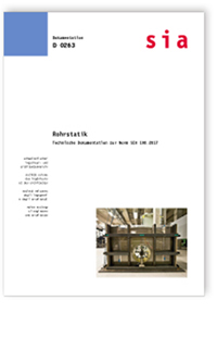Buch: Rohrstatik - Technische Dokumentation zur Norm SIA 190:2017