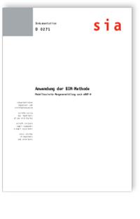 Buch: Anwendung der BIM-Methode. Modellbasierte Mengenermittlung nach eBKP-H