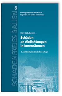 Buch: Schäden an Abdichtungen in Innenräumen