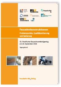 Buch: Fassadenkonstruktionen - Problempunkte, Qualitätssicherung und Sanierung