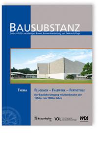 Buch: BAUSUBSTANZ Thema: Flugdach - Faltwerk - Fertigteile