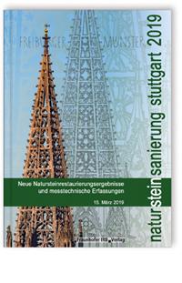 Buch: Natursteinsanierung Stuttgart 2019