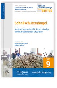 Buch: Baurechtliche und -technische Themensammlung. Heft 9: Schallschutzmängel