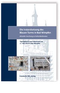 Buch: Die Instandsetzung des Blauen Turms in Bad Wimpfen