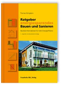 Buch: Ratgeber energiesparendes Bauen und Sanieren