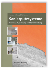 Buch: Sanierputzsysteme