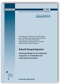 Forschungsbericht: Zukunft Baupartizipation