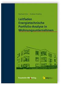 Buch: Leitfaden Energietechnische Portfolio-Analyse in Wohnungsunternehmen