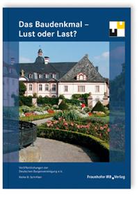 Buch: Das Baudenkmal - Lust oder Last?