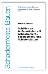 Buch: Schäden an Außenwänden mit Asbestzement-, Faserzement- und Schieferplatten
