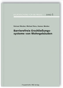 Buch: Barrierefreie Erschließungssysteme von Wohngebäuden